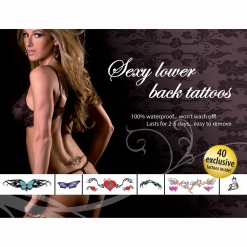 Tattoo set - Sexy lower back
