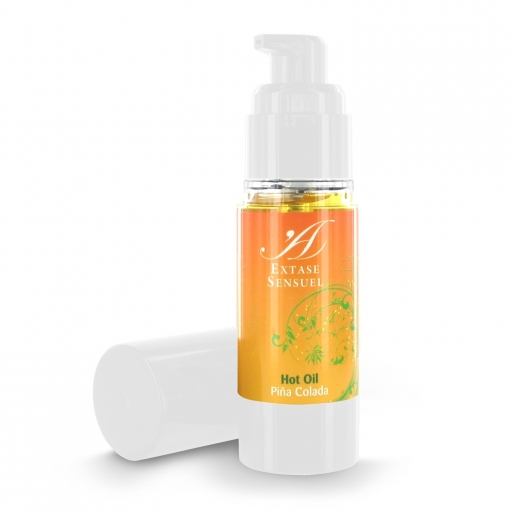Extase Sensuel - Hot oil - Piña colada, 30ml