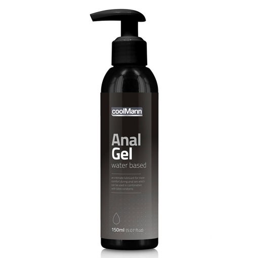 CoolMann - Anal gel, 150ml