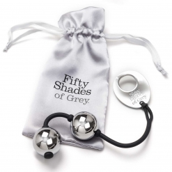 Fifty Shades of Grey – Silver Metal Ben Wa Balls