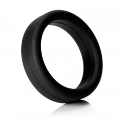 Tantus - Super Soft C-Ring, crni
