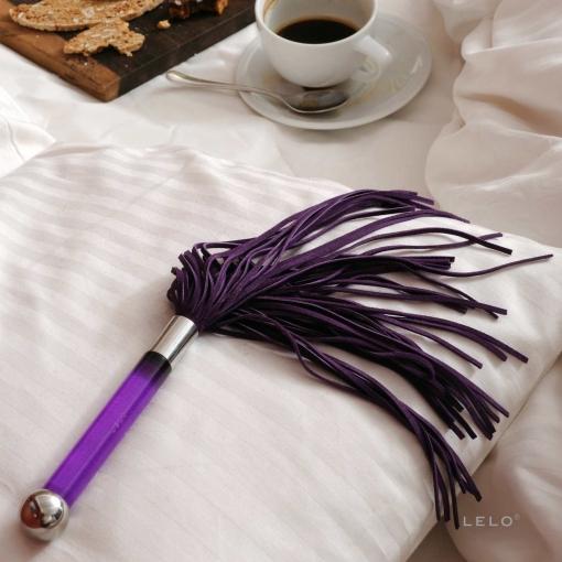 Lelo – Sensua bič od brušene kože