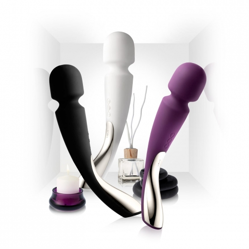Lelo - Smart Wand Massager Medium, crni
