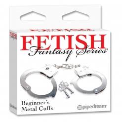 Fetish Fantasy - Begginer's lisice, srebrne