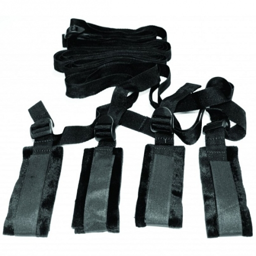 Sex and Mischief - Bed Bondage Restraint Kit