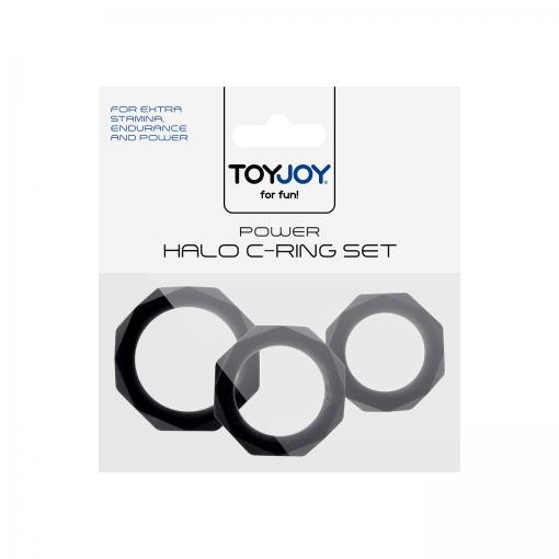 Toy Joy – Power Halo set penis prstenova