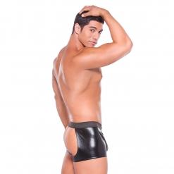 Allure – Wetlook hlačice s otvorima i tanga gaćicama
