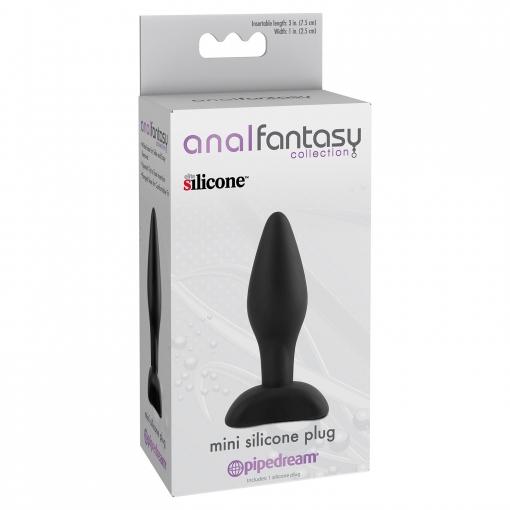 Anal Fantasy – Silikonski Butt Plug, mini