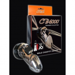 CB 6000 Chastity Cage, Chrome