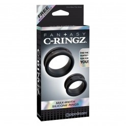 Fantasy C-Ringz – Max Width Silicone Rings