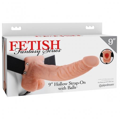 Fetish Fantasy – Strap-on s utorom, 23 cm