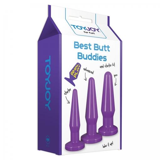 Toy Joy – Best Butt Buddies Set