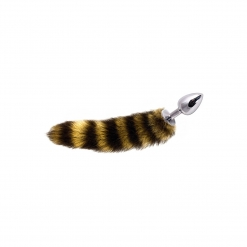 Dolce Piccante – Jewellery Small Silver Stripe Tail