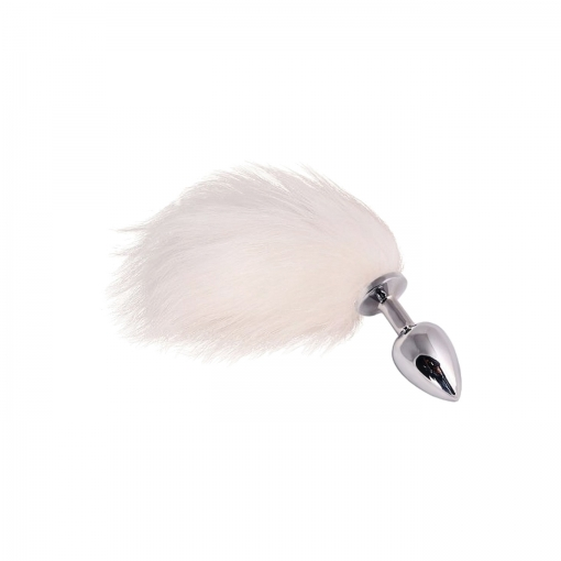 Dolce Piccante – Jewellery Small Silver White Tail