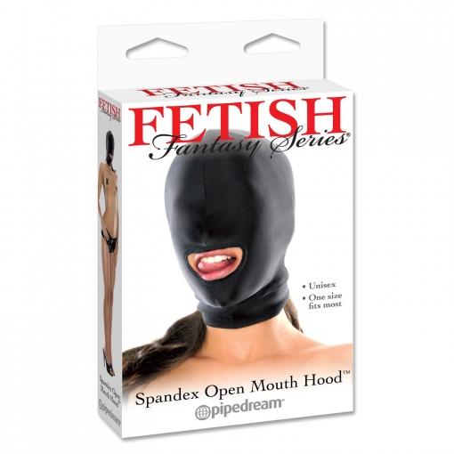 Fetish Fantasy – Spandex Hood s otvorom za usta