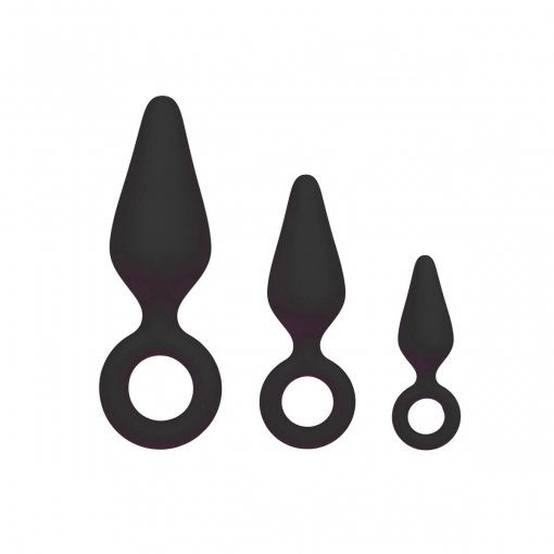 Anal Collection – Pointy Plug Set
