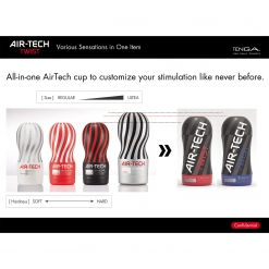 Tenga – Air-Tech Twist Ripple prilagodljivi masturbator