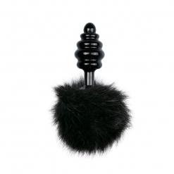 Fetish Collection – Bunny Tail Plug No. 2, crni