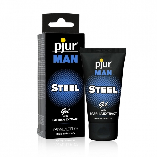 Pjur MAN – STEEL Gel, 50 ml