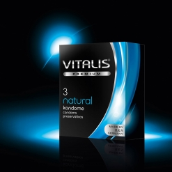 Vitalis – Natural kondomi, 3 kom