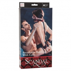 Scandal - Ball Gag i lisice