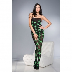 Music Legs - Leaf Catsuit