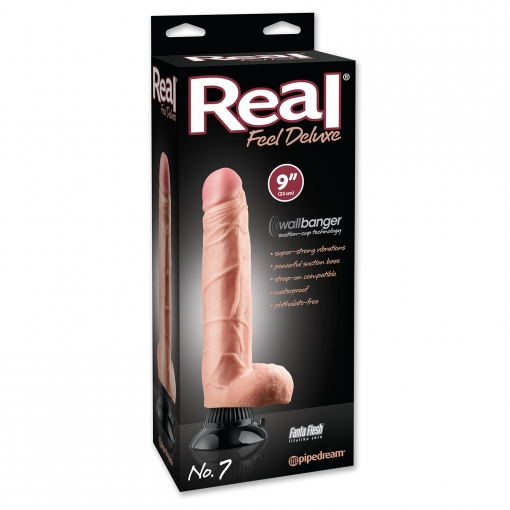 Real Feel Deluxe vibrator - No. 7