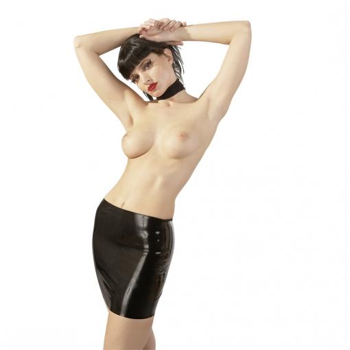 Late X - Latex mini suknja