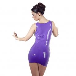 Late X - Latex mini haljina