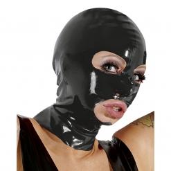 Late X - Latex maska s otvorima za oči i usta