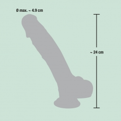 You2Toys - Medical Silicone Dildo 24 cm