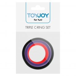 Toy Joy - Triple C-Ring Set