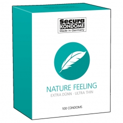 Secura - Nature Feeling Ultra Thin kondomi, 100 kom