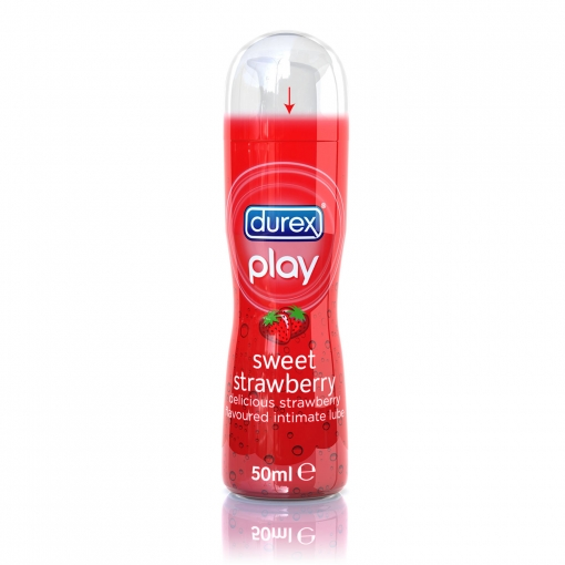 Durex - Play Sweet Strawberry Lubricant, 50 ml