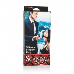 Scandal - Silicone Stopper Gag