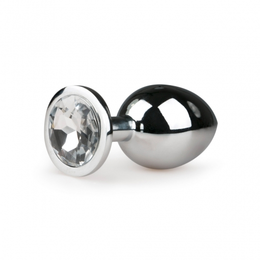 Anal Collection - Metal Butt Plug No. 2 Silver