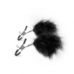Fetish Collection - Nipple Clamps with Feathers