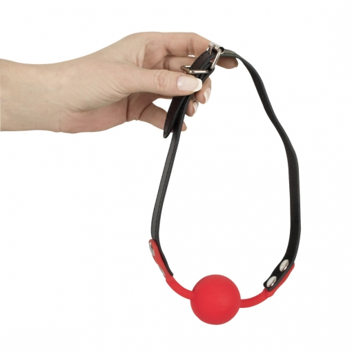 Bad Kitty - Red Silicone Ball Gag