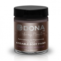 Dona - Body Paint Chocolate Mousse, 60 ml