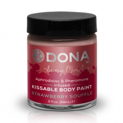 Dona - Body Paint Strawberry Souffle, 60 ml