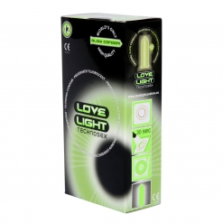 Love Light - Glow in the Dark kondomi, 12 kom