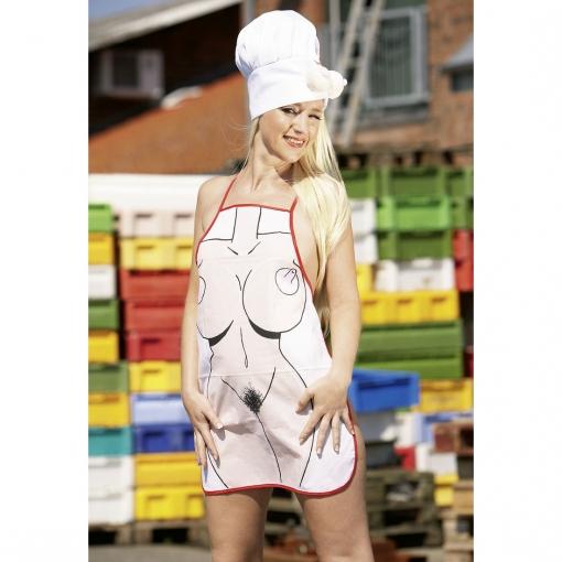 Pregača za kuhanje žena