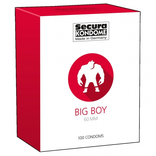 Secura - Big Boy XXL kondomi, 100 kom