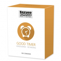 Secura - Good Timer kondomi, 100 kom