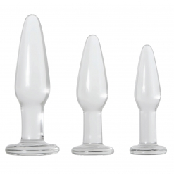Adam & Eve - Glass Anal Training Trio