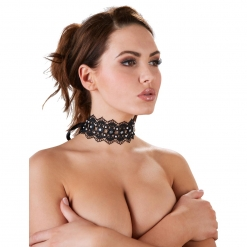 Cottelli Collection - Choker s perlicama