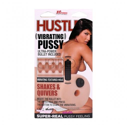 Hustler - Vibrating Pussy masturbator