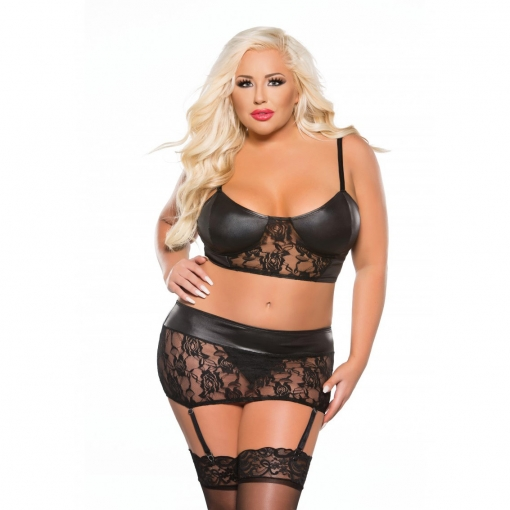 Allure - Dvodijelni set No. 1 Plus Size