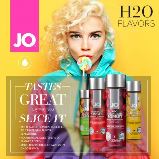 System JO - H2O Lubricant Banana, 30 ml