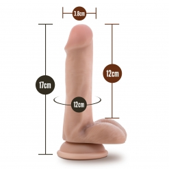 Blush - Silicone Willy Dildo 15 cm